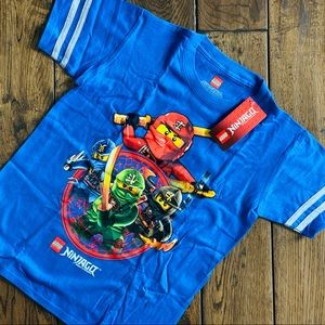 NWT Boys' LEGO Ninjago Short-Sleeved Tee